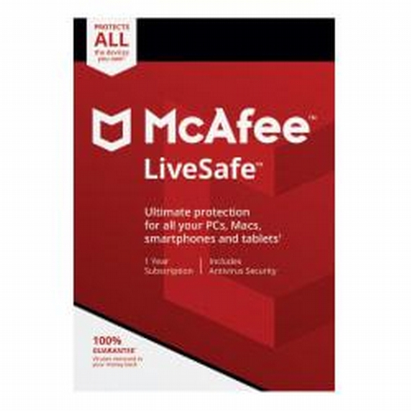Check out McAfee(R) LiveSafe(TM), For PC And Apple(R) Mac(R), Product Key  Card - ShopYourWay
